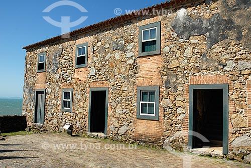 Assunto: Fachada da Fortaleza de São José da Ponta Grossa (século XVIII) / Local: Distrito de Canavieiras - Santa Catarina (SC) - Brasil / Data: 10/2011