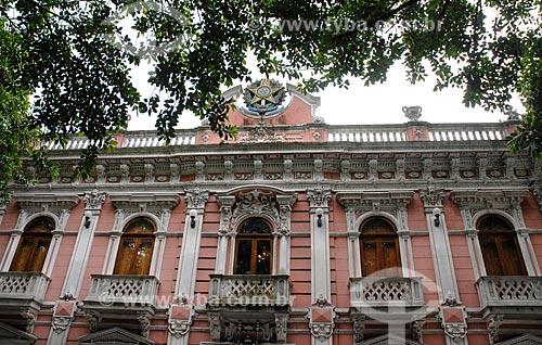 Assunto: Fachada do Palácio Cruz e Souza - antigo Palácio Rosado - hoje abriga o Museu Histórico de Santa Catarina / Local: Florianópolis - Santa Catarina (SC) - Brasil / Data: 10/2011