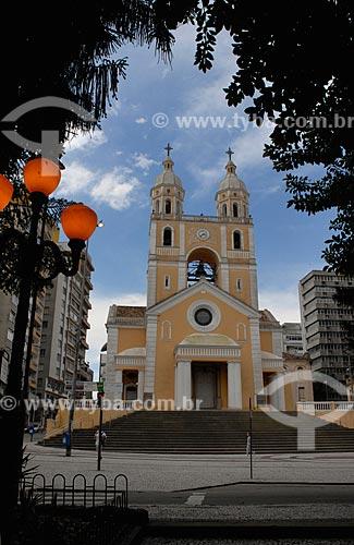 Assunto: Catedral Metropolitana de Florianópolis (1773) - dedicada a Nossa Senhora do Desterro / Local: Florianópolis - Santa Catarina (SC) - Brasil / Data: 10/2011