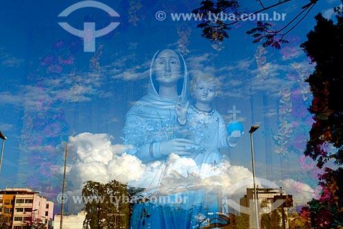 Assunto: Imagem de Nossa Senhora da Ajuda no Convento de Nossa Senhora da Conceição da Ajuda / Local: Vila Isabel - Rio de Janeiro (RJ) - Brasil / Data: 01/2008
