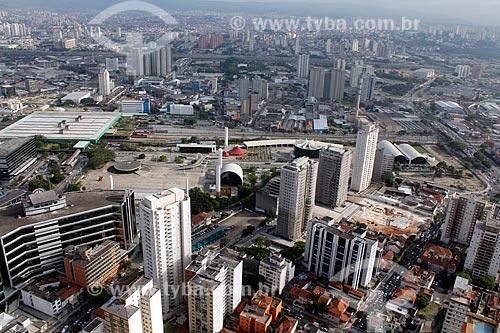 Assunto: Vista aérea do Memorial da América Latina / Local: Barra Funda - São Paulo (SP) - Brasil / Data: 11/2012