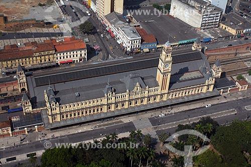 Assunto: Estação da Luz / Museu da Língua Portuguesa / Local: Bairro da Luz - São Paulo (SP) - Brasil / Data: 10/2012