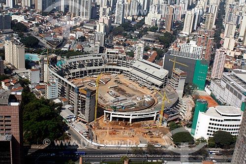 Assunto: Construção da Arena Palestra Itália - Estádio do Palmeiras / Local: São Paulo (SP) - Brasil / Data: 09/2012