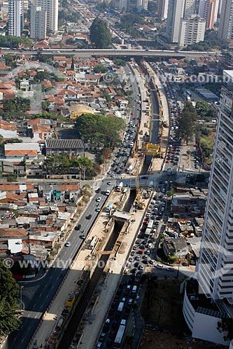 Assunto: Obras do Monotrilho - Linha Ouro / Local: São Paulo (SP) - Brasil / Data: 09/2012