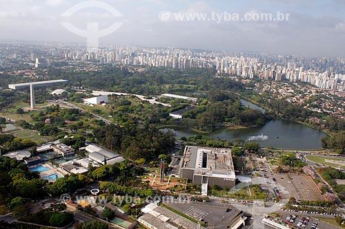 Assunto: Vista aérea do Parqaue Ibirapuera / Local: São Paulo (SP) - Brasil / Data: 11/2012
