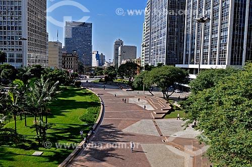 Assunto: Vista do Vale do Anhangabaú / Local: São Paulo (SP) - Brasil / Data: 08/2009