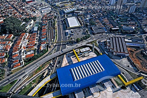 Assunto: Vista do Terminal Sacomã / Local: Sacomã - São Paulo (SP) - Brasil / Data: 05/2008