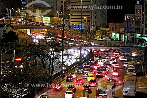 Assunto: Vista da Avenida Prestes Maia / Local: São Paulo (SP) - Brasil / Data: 07/2009