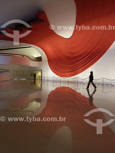 Assunto: Interior do Auditório Ibirapuera / Local: Parque do Ibirapuera - São Paulo (SP) - Brasil / Data: 12/2012