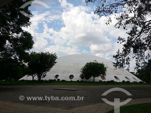 Assunto: Pavilhão Lucas Nogueira Garcez - conhecido como Oca / Local: Parque do Ibirapuera - São Paulo (SP) - Brasil / Data: 12/2012
