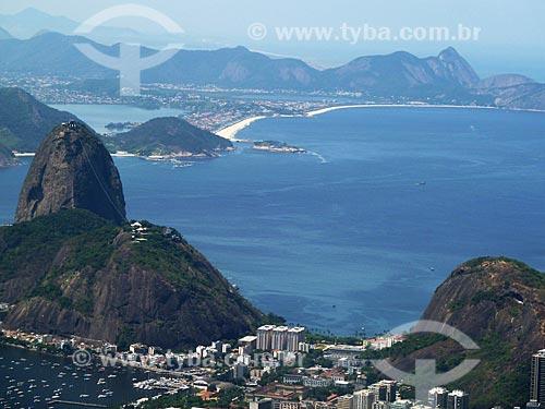 Assunto: Vista do Pão de Açúcar com Piratininga ao fundo / Local: Rio de Janeiro (RJ) - Brasil / Data: 03/2012