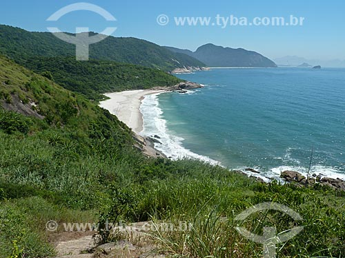 Assunto: Praia do Meio deserta / Local: Grumari - Rio de Janeiro (RJ) - Brasil / Data: 01/2011