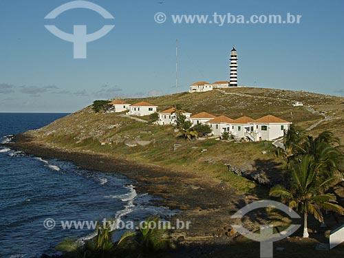 Assunto: Vila e farol de Abrolhos / Local: Parque Nacional Marinho dos Abrolhos - Bahia (BA) - Brasil / Data: 08/2008