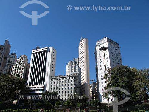 Assunto: Prédios no Vale do Anhangabaú / Local: São Paulo (SP) - Brasil / Data: 07/2010
