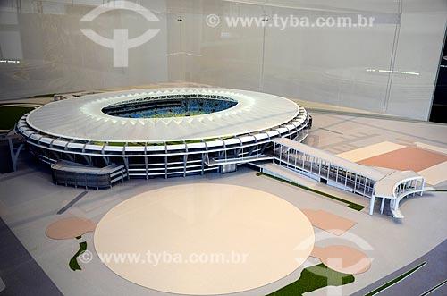 Assunto: Maquete do novo Estádio do Maracanã para a Copa do Mundo de 2014 / Local: Maracanã - Rio de Janeiro (RJ) - Brasil / Data: 11/2012