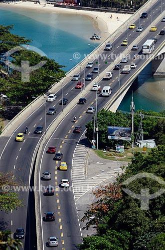 Assunto: Ponte da Joatinga e Praia dos Amores / Local: Barra da Tijuca - Rio de Janeiro (RJ) - Brasil / Data: 08/2012