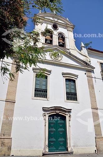 Assunto: Fachada da Igreja de Nossa Senhora de Bonsucesso (1780) / Local: Centro - Rio de Janeiro (RJ) - Brasil / Data: 08/2012