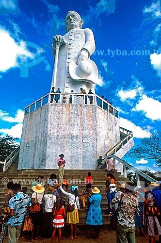 Assunto: Estátua de Padre Cícero / Local: Juazeiro do Norte - Ceará (CE) - Brasil / Data: 1993