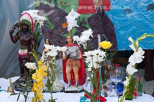 Assunto: Culto de Umbanda na Praia de Copacabana durante o réveillon 2012 / Local: Copacabana - Rio de Janeiro (RJ) - Brasil / Data: 12/2012