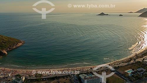 Assunto: Pôr do sol na Praia do Pontal / Local: Recreio dos Bandeirantes - Rio de Janeiro (RJ) - Brasil / Data: 12/2012