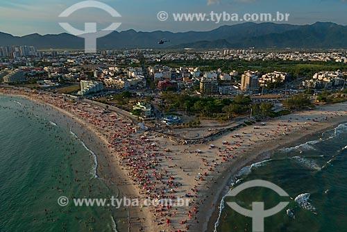 Assunto: Vista da Praia do Recreio e da Praia do Pontal / Local: Recreio dos Bandeirantes - Rio de Janeiro (RJ) - Brasil / Data: 01/2013