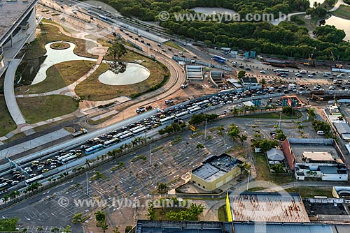 Assunto: Vista da Avenida Ayrton Senna e da Cidade das Artes - à esquerda / Local: Barra da Tijuca - Rio de Janeiro (RJ) - Brasil / Data: 01/2013