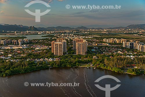 Assunto: Vista aérea da Barra da Tijuca / Local: Barra da Tijuca - Rio de Janeiro (RJ) - Brasil / Data: 01/2013