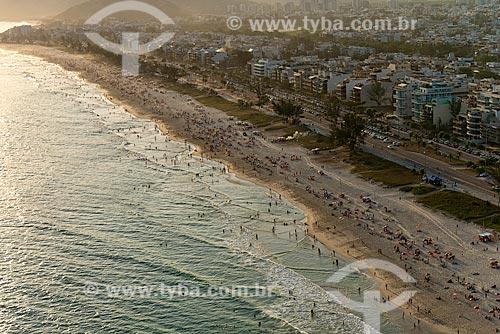 Assunto: Vista da Praia do Recreio / Local: Recreio dos Bandeirantes - Rio de Janeiro (RJ) - Brasil / Data: 01/2013