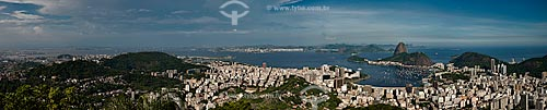 Assunto: Vista da Baía de Guanabara com o Pão de Açúcar / Local: Rio de Janeiro (RJ) - Brasil / Data: 01/2013
