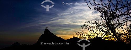 Assunto: Morro do Corcovado e Cristo Redentor / Local: Rio de Janeiro (RJ) - Brasil / Data: 01/2013