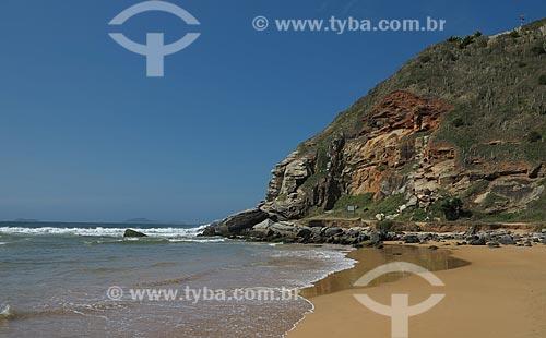 Assunto: Praia de Geribá com a Ponta do Marisco ao fundo / Local: Armação dos Búzios - Rio de Janeiro (RJ) - Brasil / Data: 10/2012