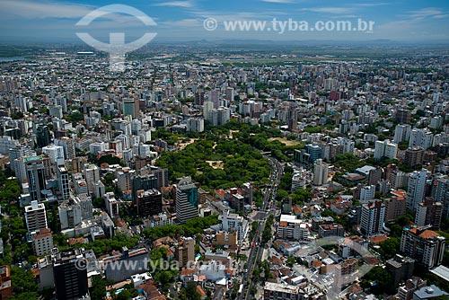 Assunto: Vista aérea do Parque Moinhos de Vento / Local: Moinhos de Vento - Porto Alegre - Rio Grande do Sul (RS) - Brasil / Data: 12/2012