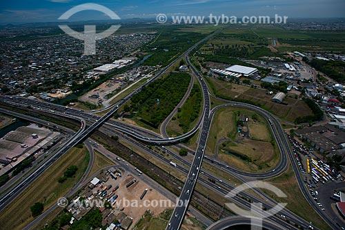 Assunto: Cruzamento da Rodovia Osvaldo Aranha (BR-290) - também conhecida como Free Way / Local: Humaitá - Porto Alegre - Rio Grande do Sul (RS) - Brasil / Data: 12/2012