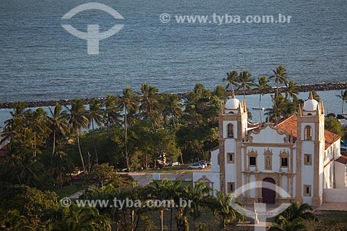 Assunto: Convento e Igreja de Nossa Senhora do Carmo - também conhecida como Convento e Igreja de Santo Antônio do Carmo (século XVI) / Local: Olinda - Pernambuco (PE) - Brasil / Data: 01/2013