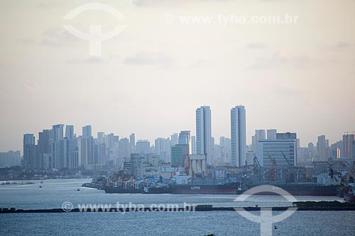 Assunto: Vista de Recife a partir de Olinda / Local: Olinda - Pernambuco (PE) - Brasil / Data: 01/2013