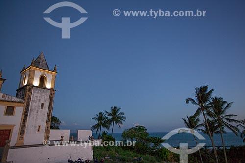 Assunto: Igreja de São Salvador do Mundo - também conhecida como Igreja da Sé (século XVI) / Local: Olinda - Pernambuco (PE) - Brasil / Data: 01/2013
