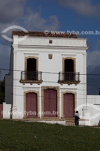 Assunto: Sobrado do Imperador (século XVII) / Local: Igarassu - Pernambuco (PE) - Brasil / Data: 01/2013