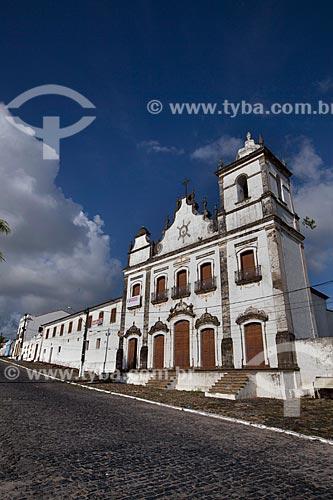 Assunto: Igreja e Convento do Sagrado Coração de Jesus (1742) e Recolhimento do Sagrado Coração de Jesus / Local: Igarassu - Pernambuco (PE) - Brasil / Data: 01/2013