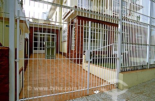Assunto: Casa com grade no bairro de Perdizes  / Local: Perdizes - São Paulo (SP) - Brasil / Data: 2003