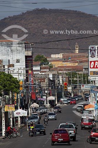 Assunto: Transito na Rua Enock Ignacio de Oliveira / Local: Serra Talhada - Pernambuco (PE) - Brasil / Data: 01/2013