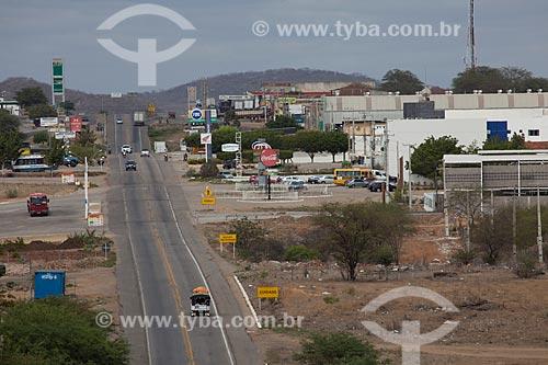 Assunto: BR-232 cruzando a cidade de Serra Talhada / Local: Serra Talhada - Pernambuco (PE) - Brasil / Data: 01/2013