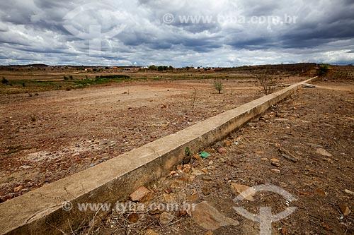Assunto: Açude Velho em período de seca / Local: São José do Egito - Pernambuco (PE) - Brasil / Data: 01/2013