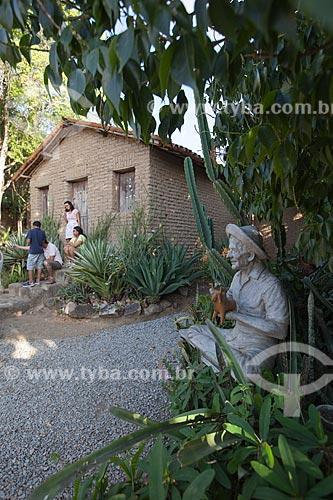 Assunto: Casa onde morou Mestre Vitalino (Vitalino Pereira dos Santos) - atual Casa Museu Mestre Vitalino / Local: Alto do Moura - Caruaru - Pernambuco (PE) - Brasil / Data: 01/2013