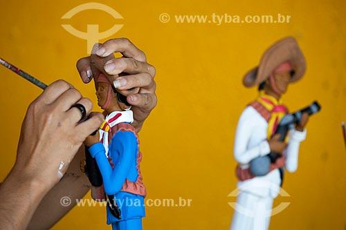 Assunto: Artesanato em cerâmica do Alto do Moura - bairro onde viveu Mestre Vitalino (Vitalino Pereira dos Santos) / Local: Alto do Moura - Caruaru - Pernambuco (PE) - Brasil / Data: 01/2013