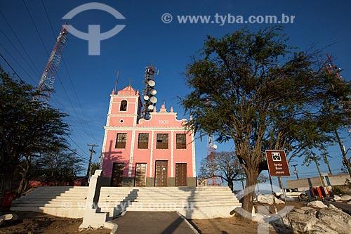 Assunto: Igreja de Bom Jesus (1902) no Morro do Bom Jesus / Local: Caruaru - Pernambuco (PE) - Brasil / Data: 01/2013