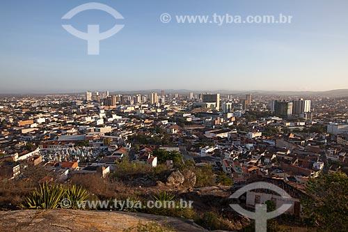 Assunto: Vista geral da cidade de Caruaru a partir do Monte Bom Jesus / Local: Caruaru - Pernambuco (PE) - Brasil / Data: 01/2013