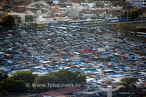 Assunto: Vista da Feira de Caruaru Compositor Onildo Almeida / Local: Caruaru - Pernambuco (PE) - Brasil / Data: 01/2013