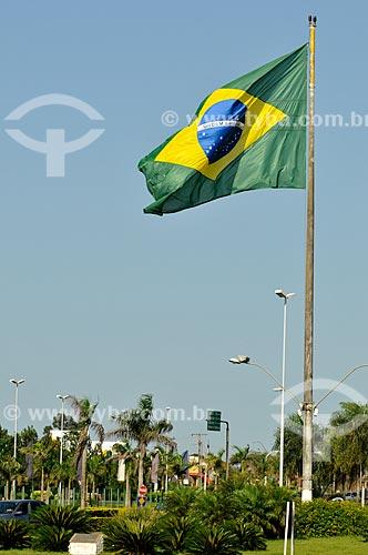 Assunto: Bandeira do Brasil / Local: Ponta Porã - Mato Grosso do Sul (MS) - Brasil / Data: 11/2012