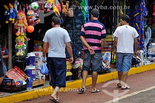 Assunto: Produtos à venda no Camelódromo / Local: Dourados - Mato Grosso do Sul (MS) - Brasil / Data: 11/2012