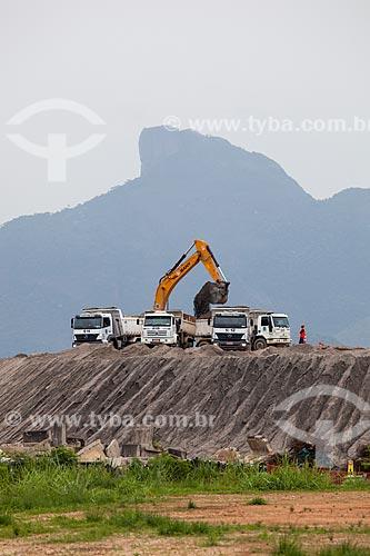 Assunto: Obras de construção do Parque Olímpico Rio 2016 - antigo Autódromo Internacional Nelson Piquet - Autódromo de Jacarepaguá / Local: Barra da Tijuca - Rio de Janeiro (RJ) - Brasil / Data: 01/2013